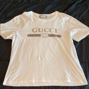 Gucci Shirts - Gucci men's t shirt xxl distressed